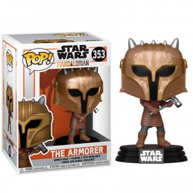 Star Wars The Mandalorian Figura POP! TV Vinyl The Armor 9 cm