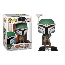 Star Wars The Mandalorian Figura POP! TV Vinyl Covert Mandalorian 352