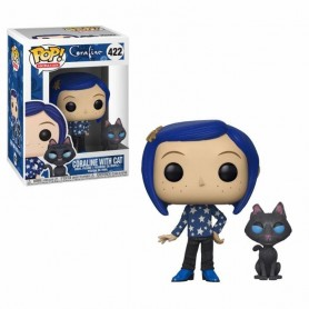 Coraline Figura POP! Movies Vinyl Coraline with Cat 422