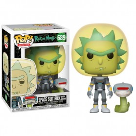 Rick & Morty POP! Animation Vinyl Figura Space Suit Rick 9 cm