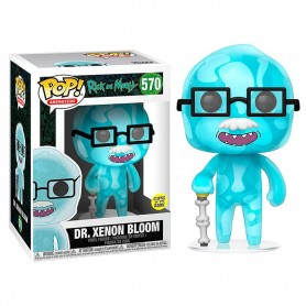 Rick y Morty POP! Animation Vinyl Figura Dr. Xenon Bloom 9 cm