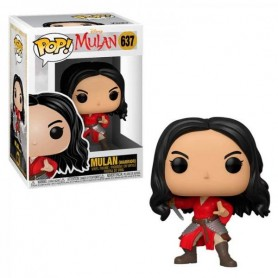 Mulan (2020) POP! Movies Vinyl Figura Warrior Mulan 637