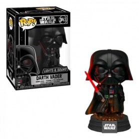 Star Wars Electronic POP! Movies Vinyl Figura con luz y sonido Darth Vader 9 cm