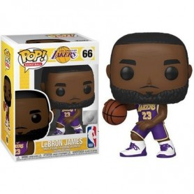 NBA POP! Sports Vinyl Figura Lebron James (Lakers) 66