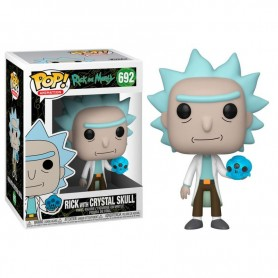 Rick & Morty POP! Animation Vinyl Figura Rick with Crystals 692