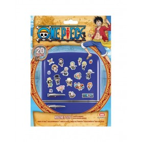 One Piece Set de Imanes Chibi