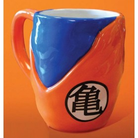 Dragon Ball Z Taza 3D Goku Gi