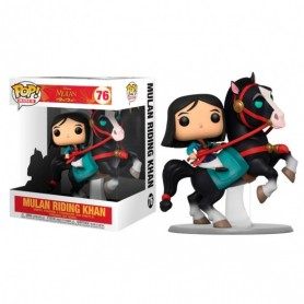 Mulan POP! Rides Vinyl Figura Mulan on Khan 18 cm