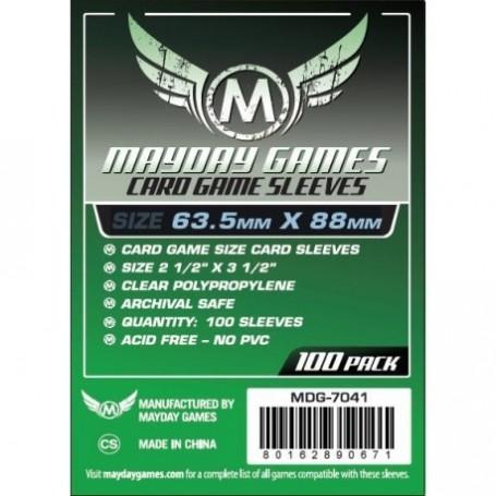copy of USA Chimera Game Sleeves 57.5 X 89 MM (100 pack) (Orange)