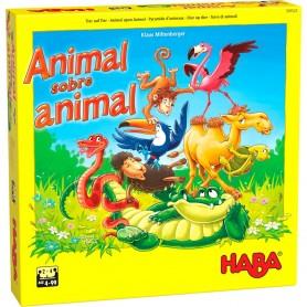 Animal sobre animal: El tambaleante juego de apilar