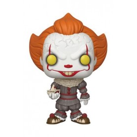 Stephen King's It 2 Figura Super Sized POP! Vinyl Pennywise w/ Boat 25 cm