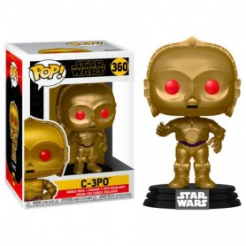 Star Wars Episode IX POP! Movies Vinyl Figura C-3PO (Red Eyes) 9 cm