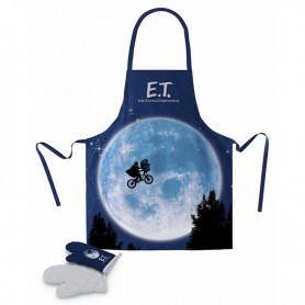 Delantal con guantes E.T.