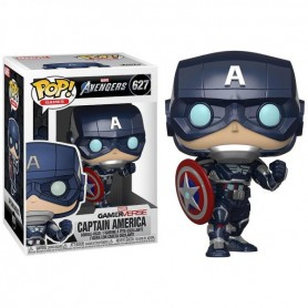 Figura POP Marvel Avengers Game Captain America Stark Tech Suit