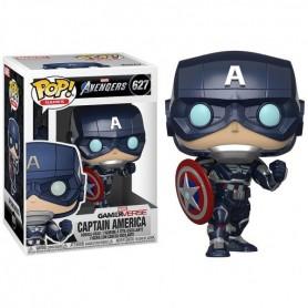 Figura POP Marvel Avengers Game Captain America Stark Tech Suit