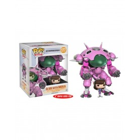 Overwatch Super Sized POP! Games Vinyl Figura D.VA & Meka 15 cm