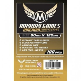 copy of USA Chimera Game Sleeves 57.5 X 89 MM (100 pack) (Orange)