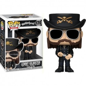 Motorhead POP! Rocks Vinyl Figura Lemmy