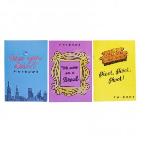 Set libretas Friends