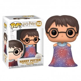 Harry Potter POP! Movies Vinyl Figura Harry w/Invisibility Cloak 112