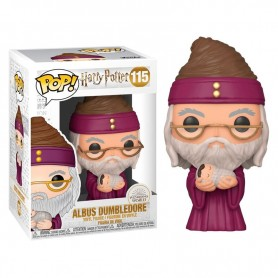 Harry Potter POP! Movies Vinyl Figura Dumbledore w/Baby Harry 115