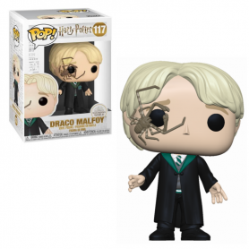 Harry Potter POP! Movies Vinyl Figura Malfoy w/Whip Spider