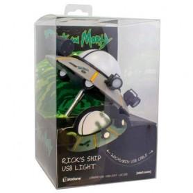 Lampara USB Nave Rick & Morty