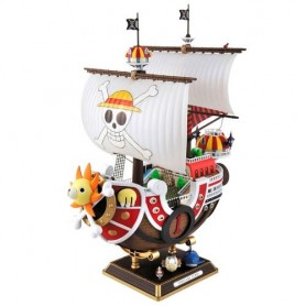 Figura Barco Thousand Sunny New World Model Kit One Piece 30cm