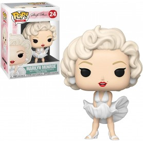 Marilyn Monroe POP! Icons Vinyl Figura Marilyn Monroe (White Dress) 9 cm
