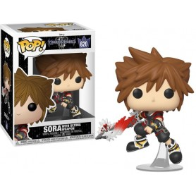 Kingdom Hearts 3 POP! Disney Vinyl Figura Sora w/Shield 9 cm 620
