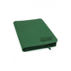 Ultimate Guard 8-Pocket ZipFolio XenoSkin Verde