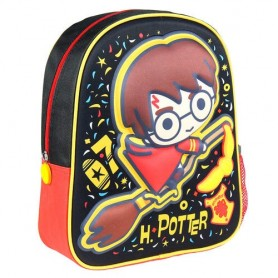 Mochila 3D Harry Potter 31cm Black line