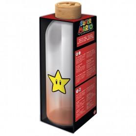 Botella cristal Super Mario Bros Nintendo 1030ml