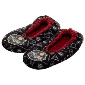 Pantuflas Harry Potter black