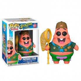 Figura POP Sponge Bob Patrick in Camping Gear Patricio