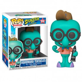 Figura POP Sponge Bob Squidward in Camping Gear Calamardo