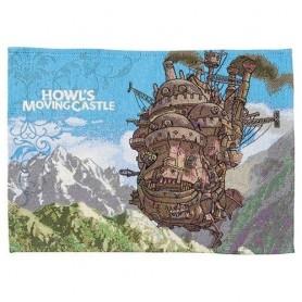 El castillo ambulante Mantel Individual de tela Poster
