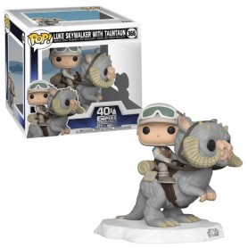 Star Wars POP! Deluxe Movies Vinyl Figura Luke on Taun Taun 40 TH 366