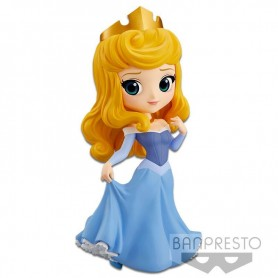 Disney Minifigura Q Posket Princess Aurora (Blue Dress) 14 cm