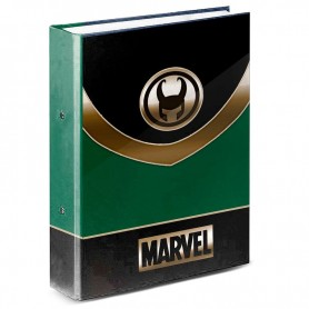 Carpeta A4 Loki Marvel anillas