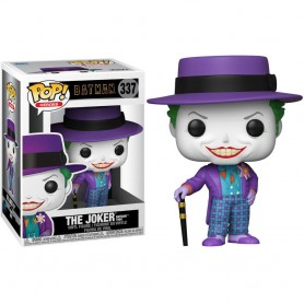 Figura POP DC Comics Batman 1989 Joker with Hat 337