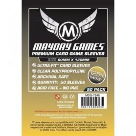Fundas Premium Dixit Transparentes 80 MM X 120 MM (50 Pack)Magnum Gold MayDay